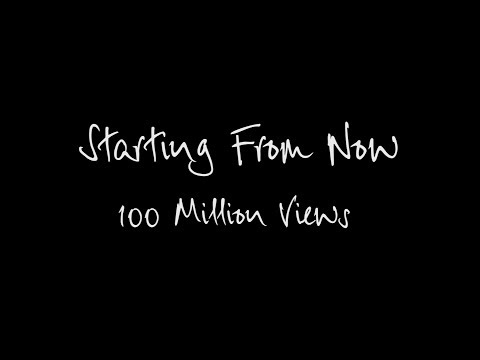 STARTING FROM NOW 100 MILLION VIEW THANK YOU VIDEO
