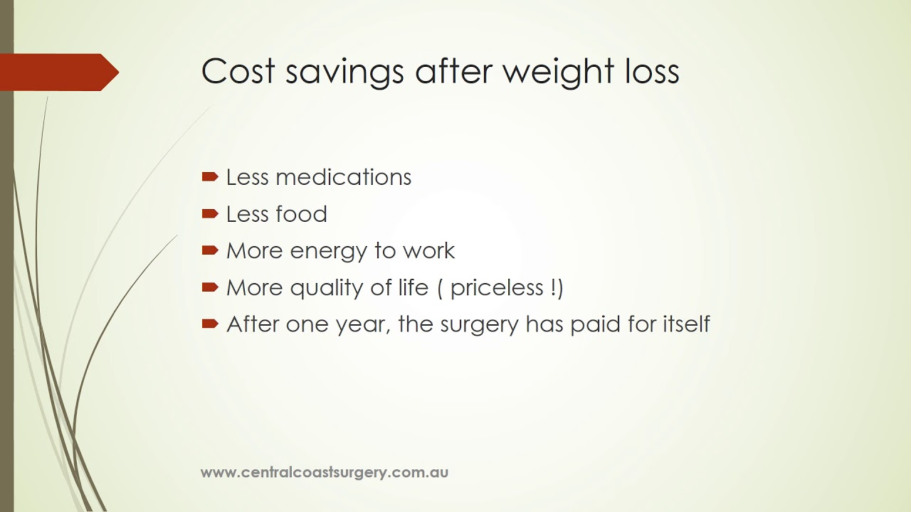 Cost Of Gastric Sleeve Surgery Nsw Australia Youtube
