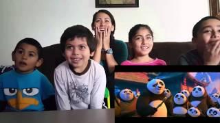 Kung Fu Panda 3 Official Trailer #3 Cynthia's Reaction