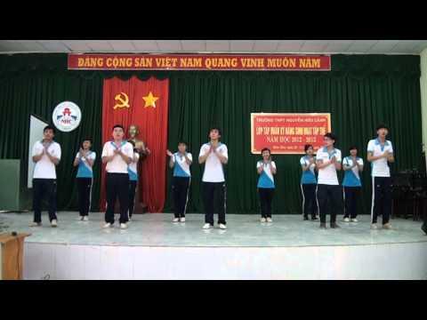 Dân Vũ - Chicken Dance THPT Nguyễn Hữu Cảnh