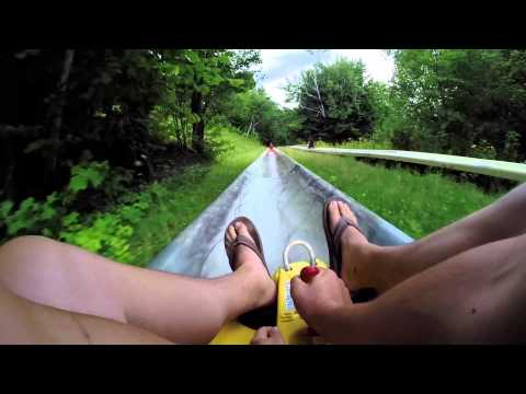 Attitash Mountain Alpine Slide