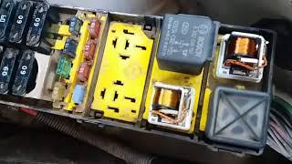 como identificar el relevador de la BOMBA DE GASOLINA, gas pump relay