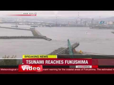 Japonya'da Korkutan Deprem Ve Tsunami ART HABER