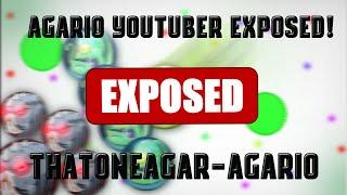 THATONEAGAR AGARIO EXPOSED // DISSTRACK ON AGARIO YOUTUBER // AGARIO YOUTUBER STEALS CLIPS //
