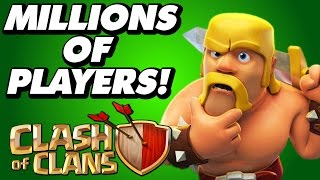 Clash Of Clans | MILLIONS OF CoC PLAYERS IN 3 DIFFERENT CATEGORIES!