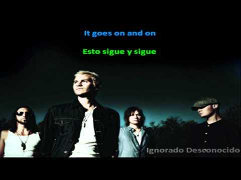 Lifehouse - I try (Sick cycle carousel) Lyrics English & Spanish