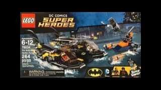 Lego DC Superheroes Batboat Harbour Pursuit Teaser - Brick Boys Lego Show