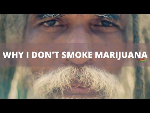 Rasta elder explaining why he does not smoke marijuana | Prof- I