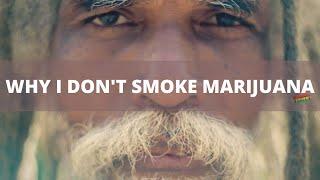 Prof-I Rasta elder explaining why he does not smoke marijuana