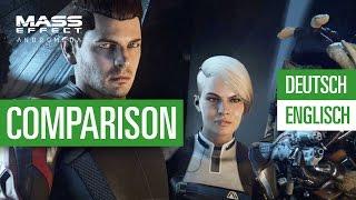 Mass Effect: Andromeda - Deutsch vs. English - Comparison