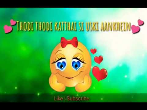 Thodi Thodi katthai Si uski Aankhein -| new WhatsApp status.