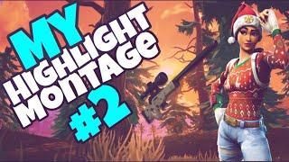 Fortnite Highlight Montage #2 - NinjaMonkeyExo
