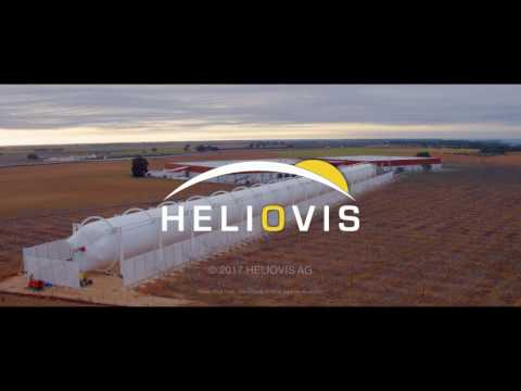HELIOVIS AG - HELIOtube the inflatable solar thermal collector