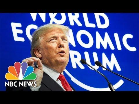 President Donald Trump's Speech At The 2018 World Economic Forum (Full) | NBC News