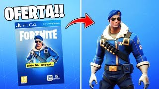 *SPECIAL OFFER* SKIN BOMBER MORE 500 PAVOS!! FORTNITE BATTLE ROYALE!!