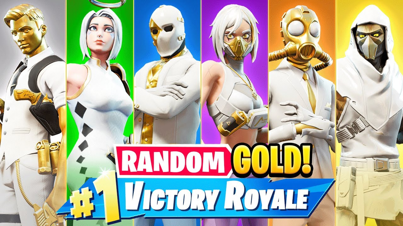 The *RANDOM* GOLD BOSS Challenge in Fortnite! (Season 3)