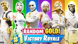 The *RANDOM* GOLD BOSS Challenge in Fortnite! (Season 3)