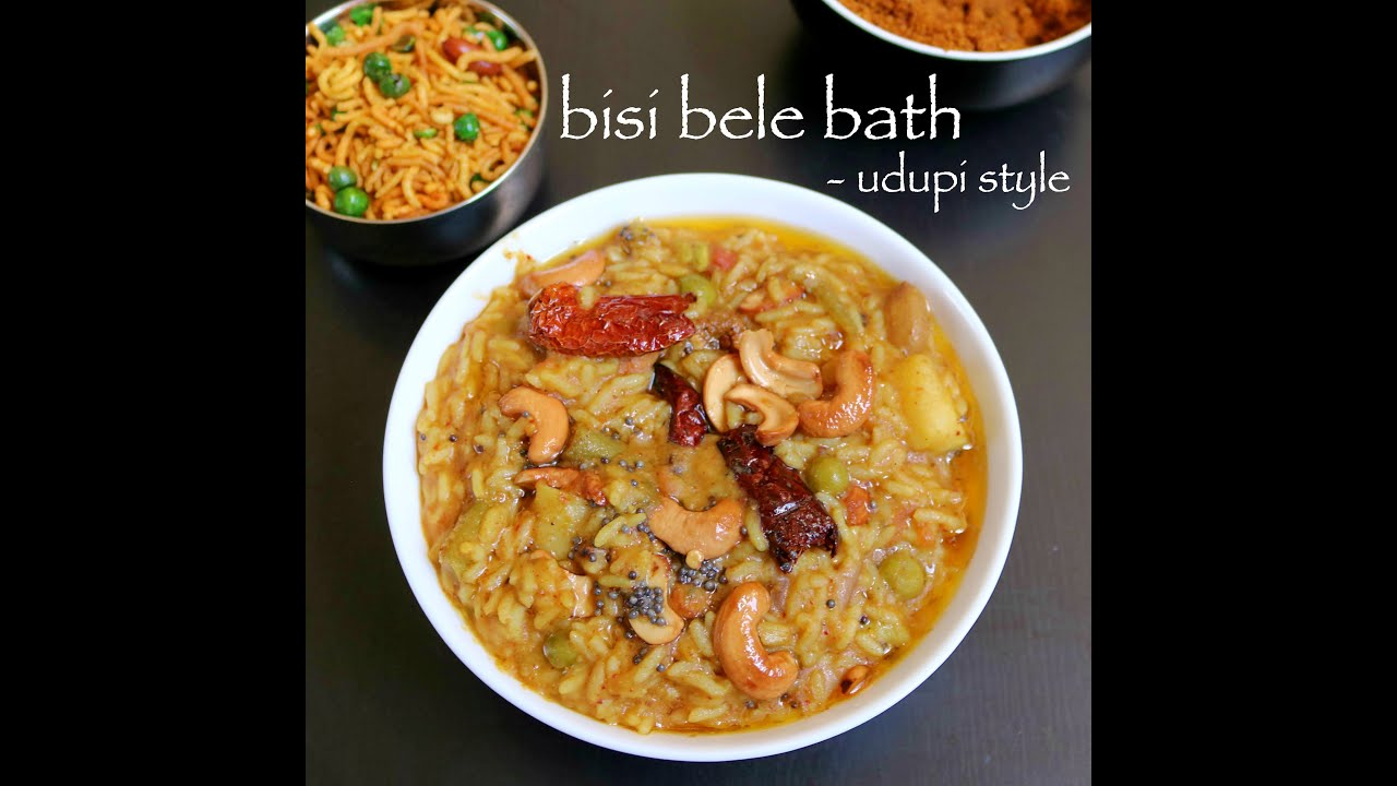 Bisi Bele Bath Recipe Hebbar S Kitchen