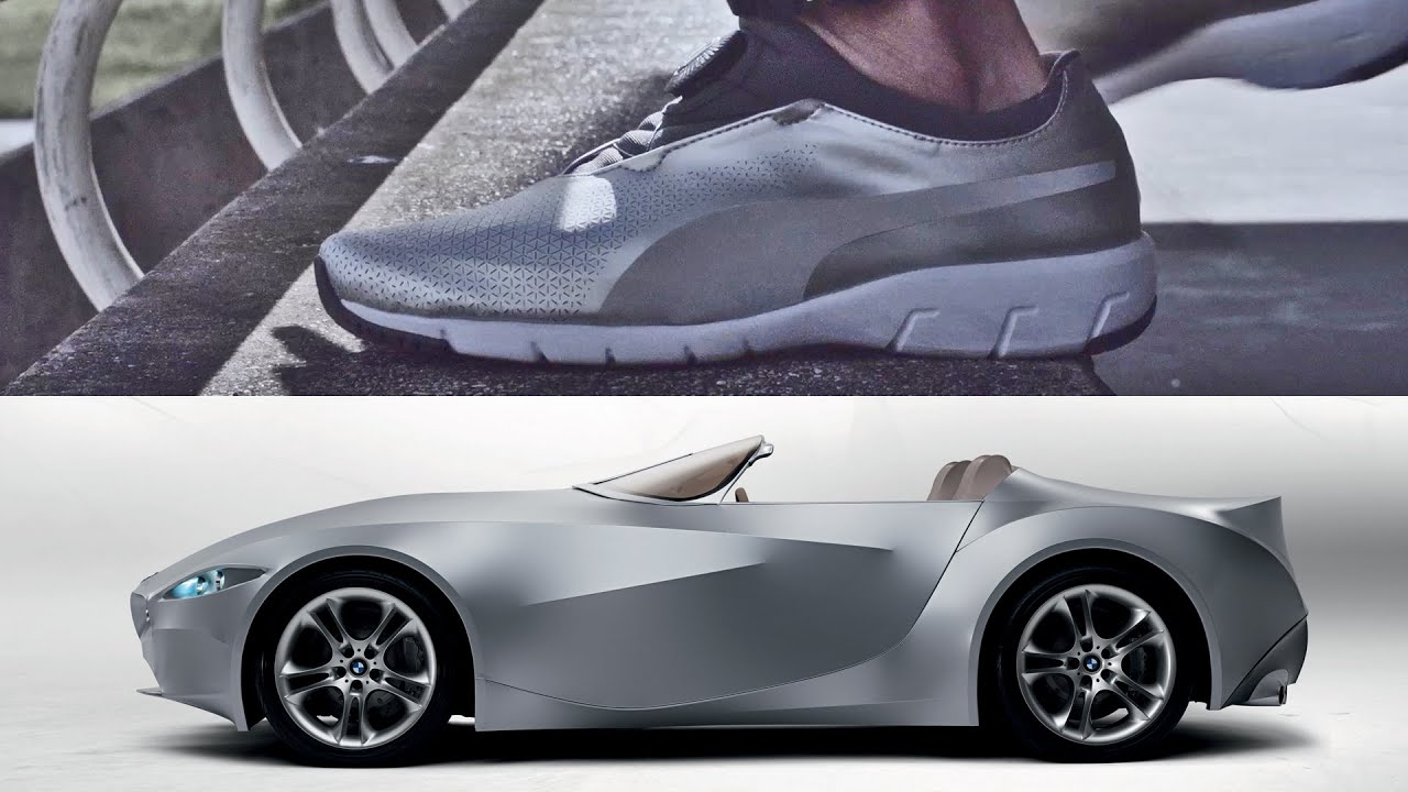 2196adaefe0 The X-CAT DISC  The Puma shoe designed by BMW - YouTube
