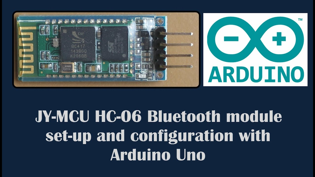 HC-06 Bluetooth module datasheet and configuration with