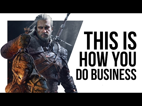 CD Projekt are showing games companies how it's done