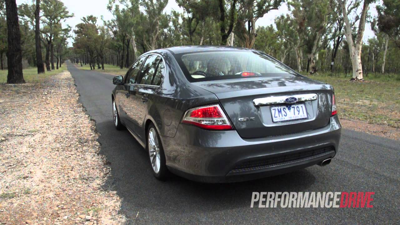2014 Ford Falcon G6E 40L 195kW 0100kmh  engine sound  YouTube