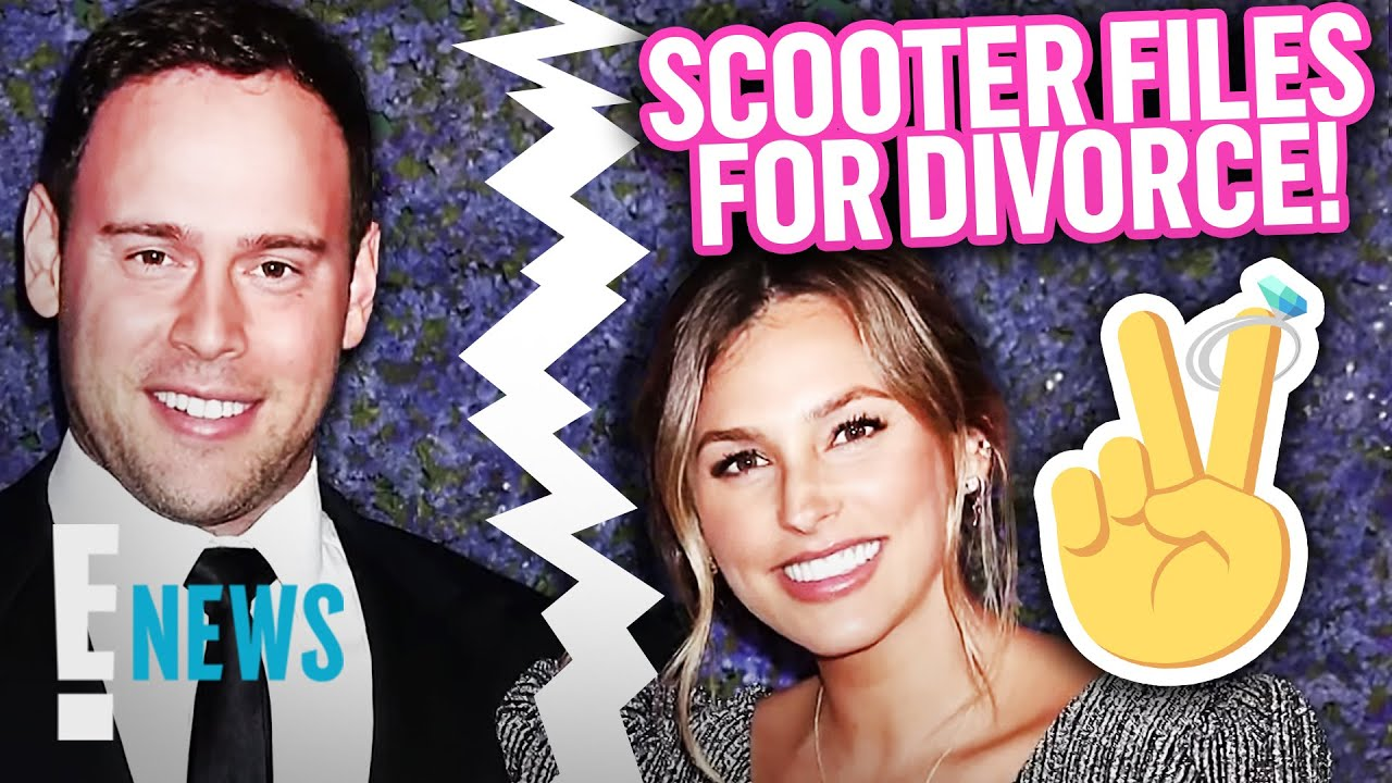Scooter Braun Officially Files For Divorce: Is There a Prenup? News