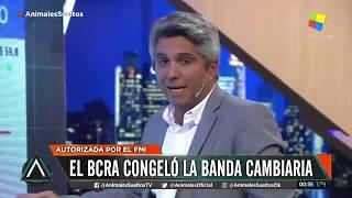 El Bcra Congeló La Banda Cambiaria