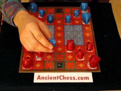 How to Play the Jungle Game - Dou Shou Qi, Chinese Animal Chess