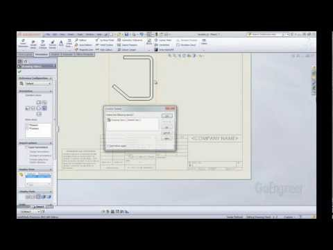 SOLIDWORKS Quick Tip - Linking Properties to a Drawing