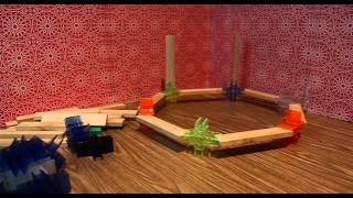 Stop Motion From The Leonardo Museum - Bionicblox Wooden Building Blocks For Kids