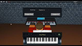 Rockstar by: Post Malone ft. 21 Savage on a ROBLOX piano.
