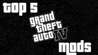 Top 5 GTA IV Mods to Install