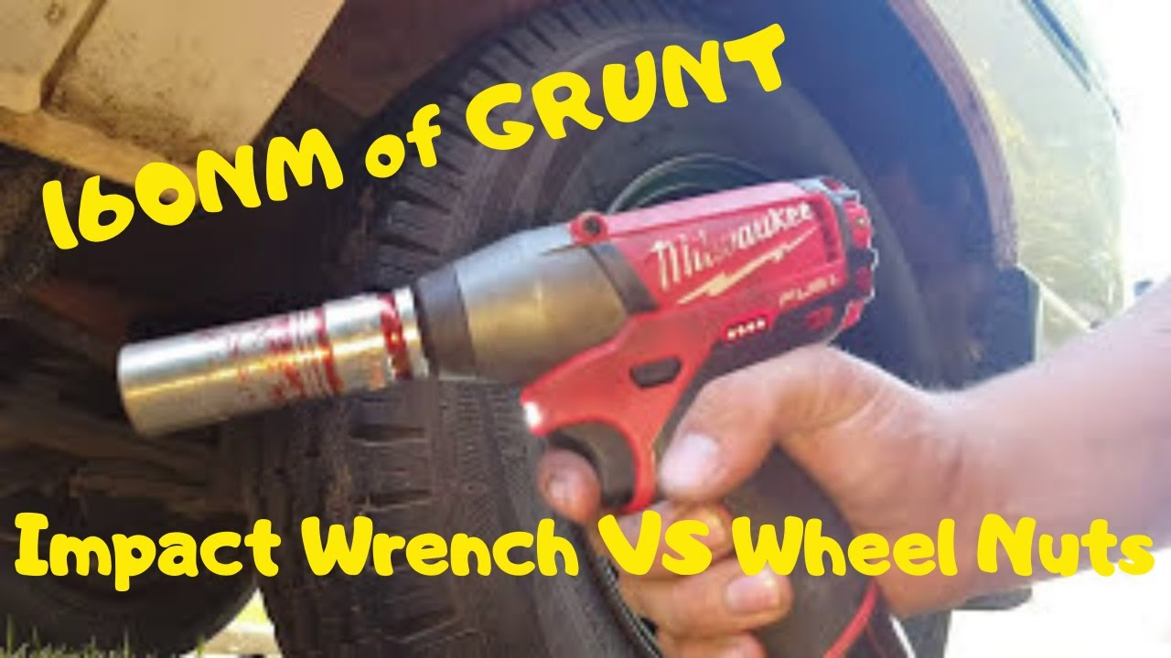 Milwaukee M12 Ciw12 Impact Wrenchvs 120 Ftlbs Wheel Nuts 160nm Of Grunt