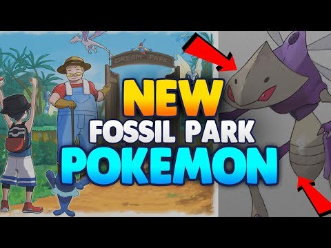 NEW FOSSIL PARK POKEMON! & NEW GENESECT FORM!  | POKEMON ULTRA SUN and POKEMON ULTRA MOON Leak!