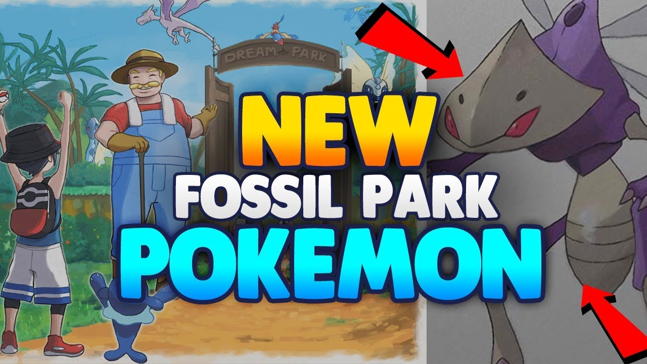 NEW FOSSIL PARK POKEMON! & NEW GENESECT FORM! | POKEMON ULTRA SUN ...