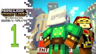 Minecraft: Story Mode (Episode 2)- Part 1 - Boomtown!