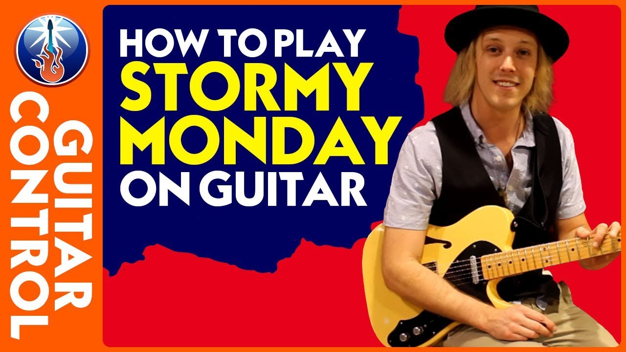 how to play stormy monday on guitar t bone walker stormy monday blues youtube. Black Bedroom Furniture Sets. Home Design Ideas