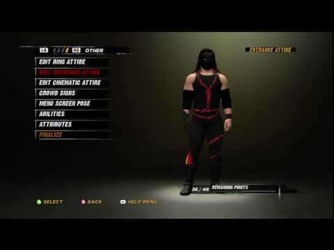 """WWE '12 Kane CAW """"Tutorial"""""""