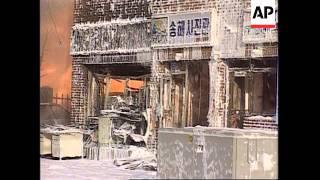 S.Korea - Gas Explosion Kills Two