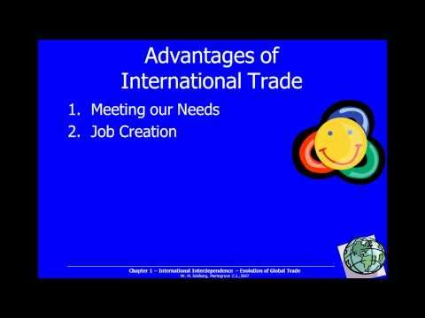 1-4 Advantages & Disadvantages of International Trade