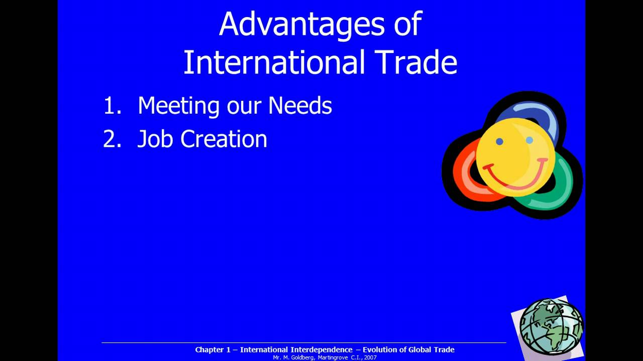 disadvantages of unrestricted international trade Some important and common advantages and disadvantages of international business discuss here to clear due to foreign competition and unrestricted imports upcoming industries in basic concept of international business barriers to international trade positive and negative effects of.
