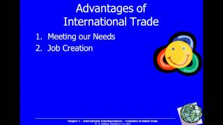 1-4 Advantages & Disadvantages of International Trade