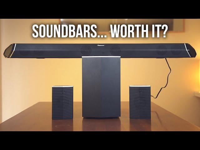 TV Soundbars...Are they worth it? - Nakamichi Shockwafe Pro Review