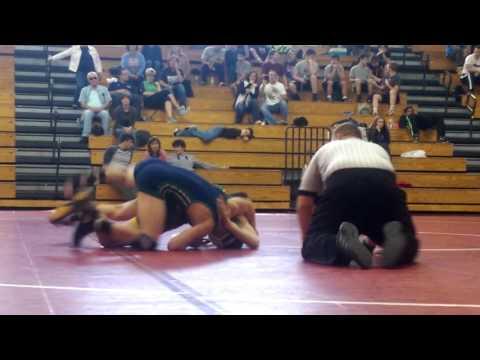 Wrestling 132 Branson Draper West Forsyth vs Dan Mills Leesville Rd HS 2015 16