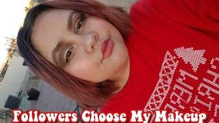 My Followers Choose My Makeup Look *fail*