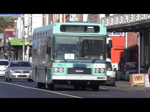 Transdev leased buses at Footscray - Melbourne Transport