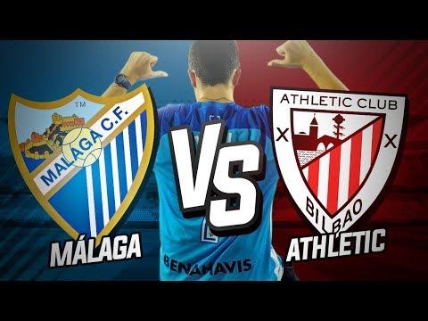 Málaga CF vs Athletic Club (3-3)   Jornada 6 Liga Santander 2017/18   Vlog y Post-Partido