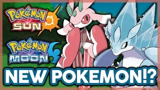 NEW POKEMON FORMS! (Alola Forms) & NEW POKEMON FOR POKEMON SUN AND MOON!