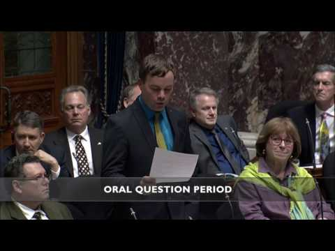 Spencer asks why the BC Liberal government refuses to include Trans people in BC's Human Rights Code